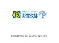 département des bouches du rhones