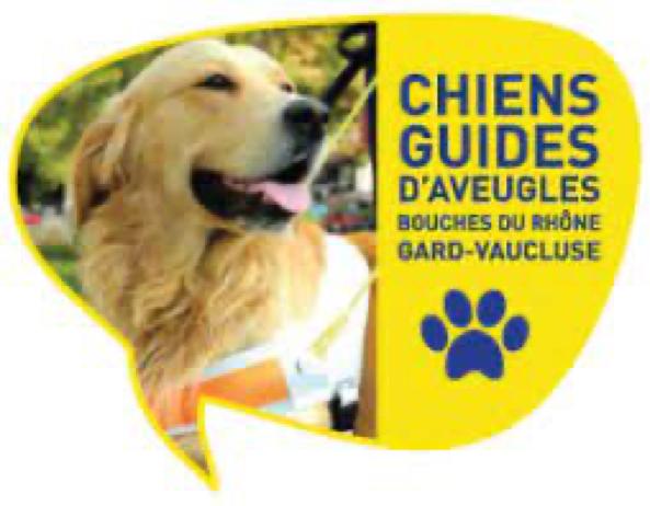logo association chiens guides 13 30 84